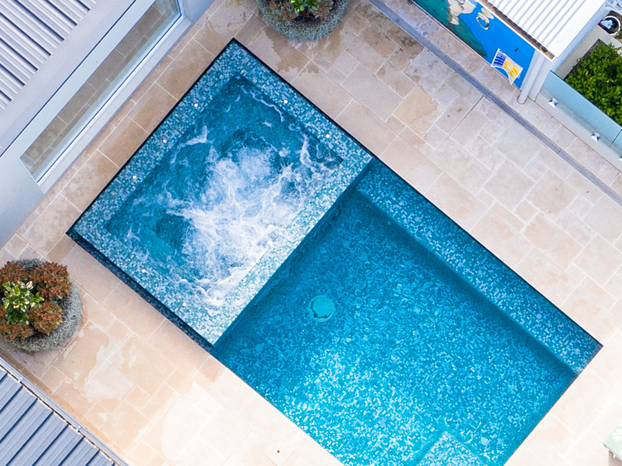 spas and water features